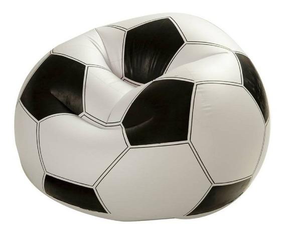 Sillon Inflable Balon Futbol Soccer Beanless 68557np Intex