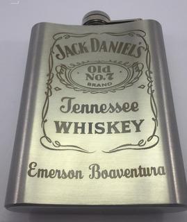 Cantil Inox Whisky Personalizado À Laser Lembrancinha Top