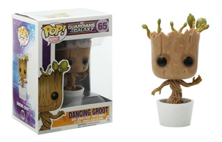 Muñeco Funko Pop Guardianes Galaxia Groot Dancing 65 Orig!!