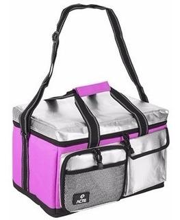 Bolsa Térmica Lunch Box Rosa Cau Saad - Acte Sports - M
