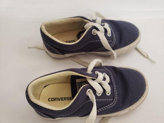 Tenis Infantil Converse Original Numero 24 Otimo Estado