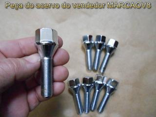 Parafuso Cromado Longo 64 Mm Peugeot 106 206 207 306 406 Ngk