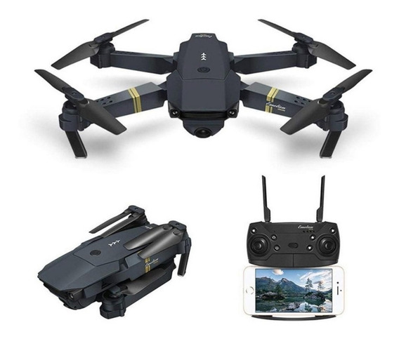 Drone E58 Com Câmera Hd Eachine Wifi Fpv