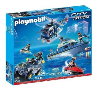 Playmobil City Action 9043 - Conjunto Policia Swat - Intek