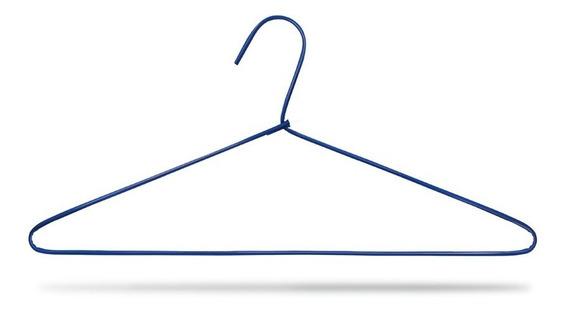 Cabide De Arame Revestido Lavanderia - Para Camisa - 500 Pçs