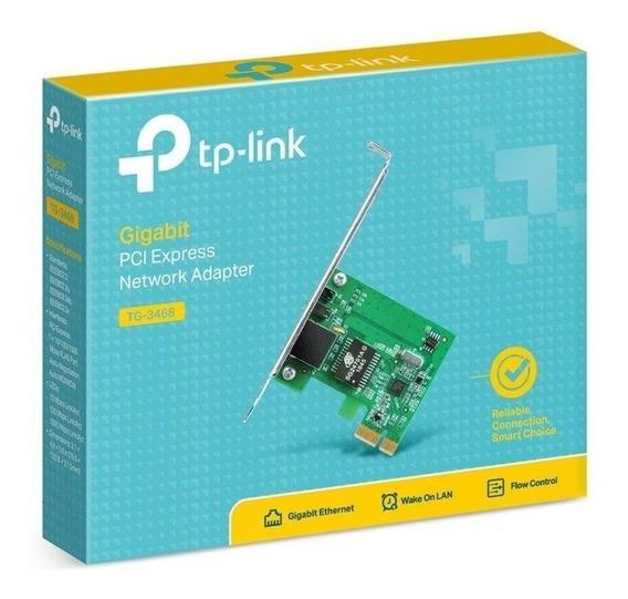 Placa De Rede Gigabit Mini Pci-e Tp-link Tg-3468 10/100/1000
