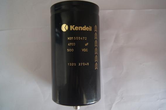 Capacitor Eletrolitico 4700 500vdc Kendeil-1001 Coisas