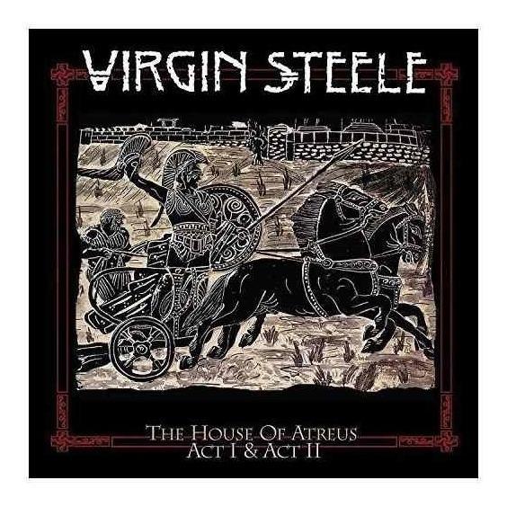 Virgin Steele House Of Atreus I + Ii Usa Import Cd X 3