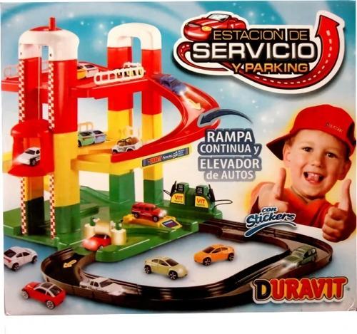 Imagen 1 de 10 de Estación De Servicio Duravit 2 Pisos Garage Pista De Autos
