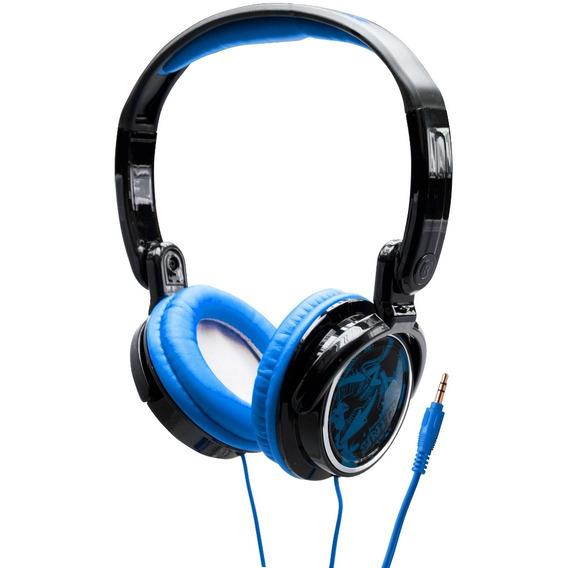 Fone De Ouvido Headphone Dobrável Jammerz Streets Coby Azul