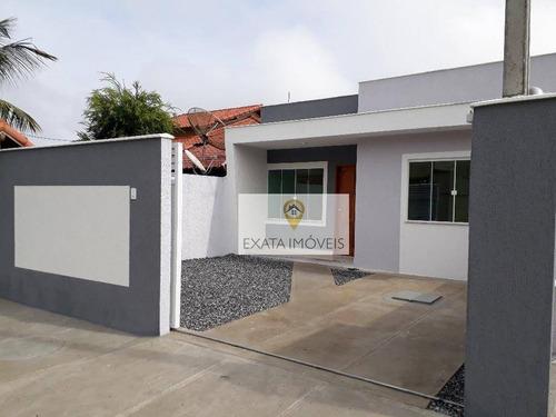 Imagem 1 de 15 de Casa Linear A 150m Da Rodovia, Jardim Mariléa, Rio Das Ostras. - Ca0991
