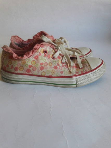 Tênis Estampado Rosa All Star 34