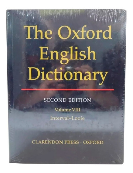 Livro The Oxford English Dictionary 2nd Vol. 8 Em Inglês