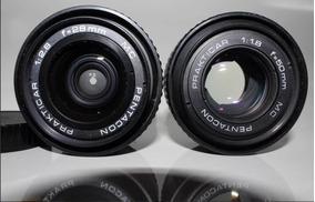 Lente 28mm 1:2.8 E 50mm 1:1.8 E Camera Praktica Bc1