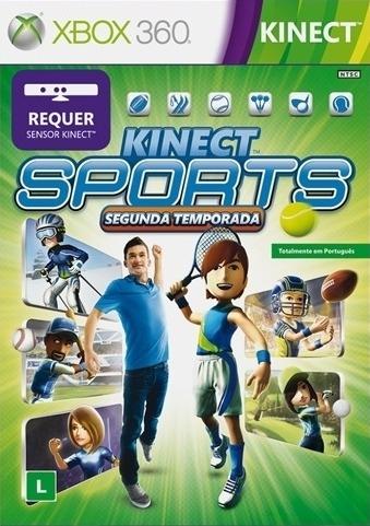 Kinect Sports Segunda Temporada Xbox 360 Midia Fisica