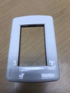 Placa Tapa Metalica Idea Rondo Vimar 16753.01 Blanco