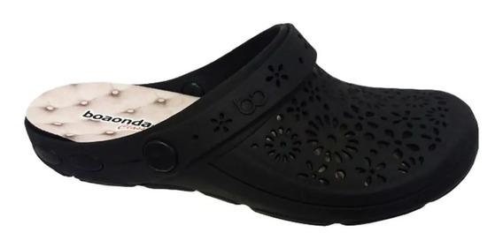 Boa Onda Crocs Classic Nellie Preto