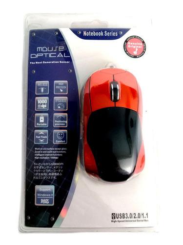 Imagen 1 de 3 de Mouse Carrito Optico Usb 1000dpi  19 01 1033