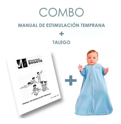 Imagen 1 de 1 de Talego Mas Manual De Estimulacion Temprana