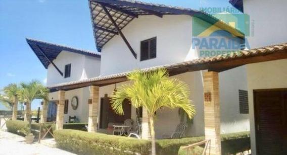 Casa De Praia À Venda - Centro - Pitimbú - Litoral Da Paraiba Pb - Ca0249