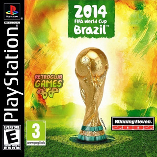 We Pes World Cup Brazil 2014 Ps1, Psx