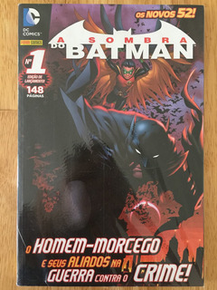 Hq Dc Comics Os Novos 52! A Sombra Do Batman Nº 1 Lacrado!!