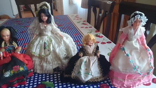 Muñecas Antiguas Lote,