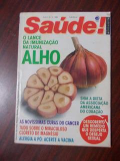 Saúde! Ed.60 - Set.1988 - Alho - Câncer - Cloreto De Magnési