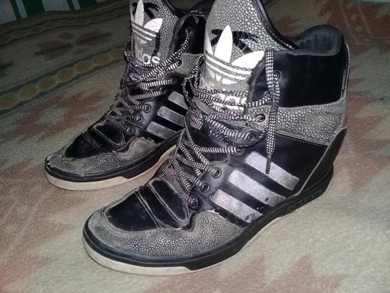 Zapatillas Botitas adidas Talle 41 Pie Izquierdo Rotura