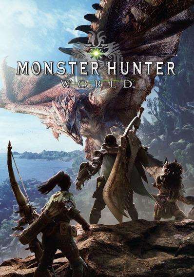 Monster Hunter: World Steam Key Original Pc (envio Imediato)