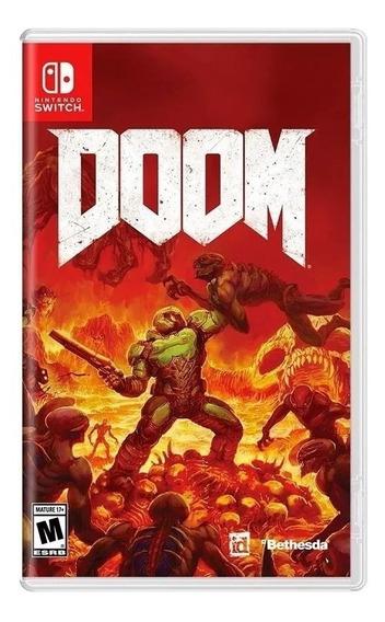 Jogo Doom Nintendo Switch Novo Lacrado Midia Física