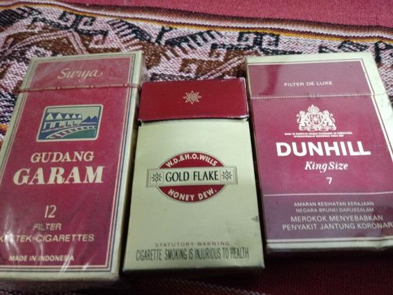 Marquillas De Cigarrilos Año 1995 (indonesia/calcuta/brunei)