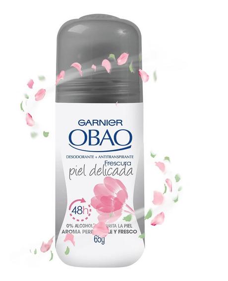 Desodorante Mujer Roll On Obao Piel Deli - kg a $96