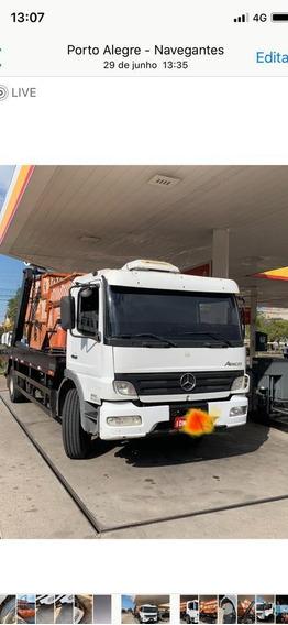 Mercedes-benz 1718 Poliguindaste Duplo 2018 Controle Remoto