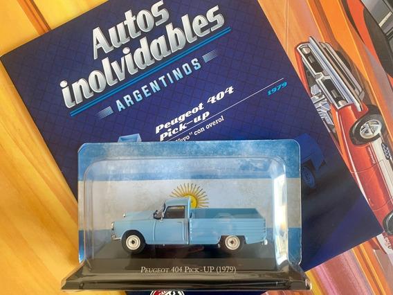 Peugeot 404 Pick-up Miniatura Autos Argentina Escala 1/43