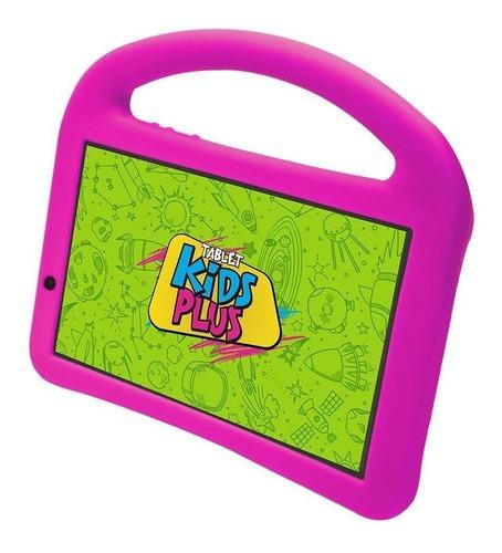 Tablet Dl Kids Plus Bluetooth Android 8gb 7´ Preto Capa Rosa