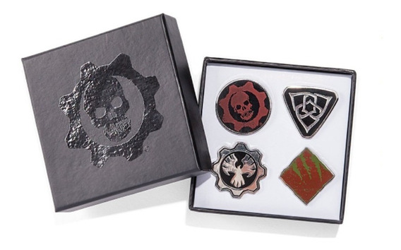 Gears Of War Pins