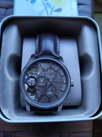 Relógio Fóssil Twist Masculino Original Completo Seminovo