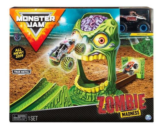 Monster Jam - Zombie Madness - Pista - Playset