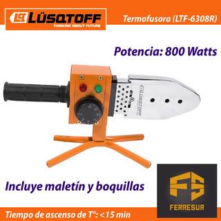 Termofusora 800 W Lusqtoff Ltf6308r + Pinza Universal Udovo