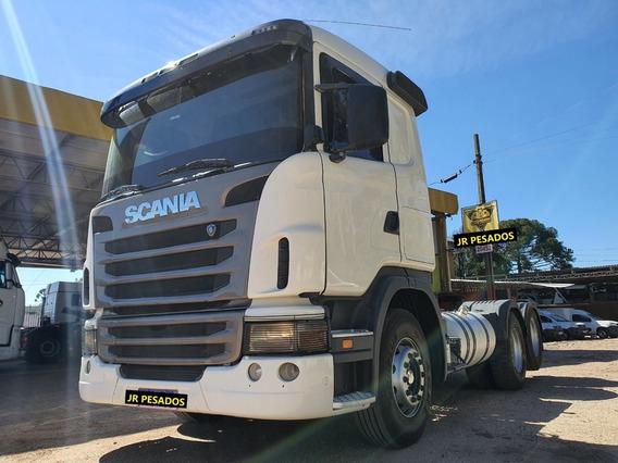 Scania G420 Ano 2011 Trucado 6x2 C_ar Condicionado Sem Arla