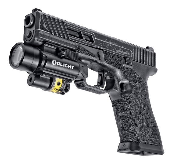 Linterna Olight Pl-2rl 1200lm Láser P/arma Glock, Sig Sauer.