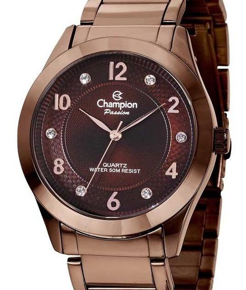 Relógio Champion Feminino Marrom - Cn29230r