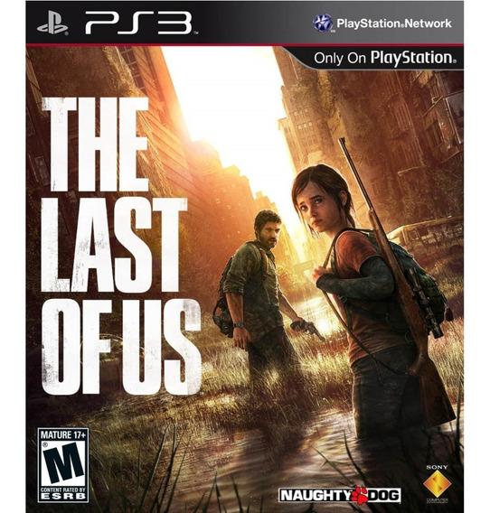 The Last Of Us Ps3 Psn Jogo The Last Of Us Play 3 Dublado