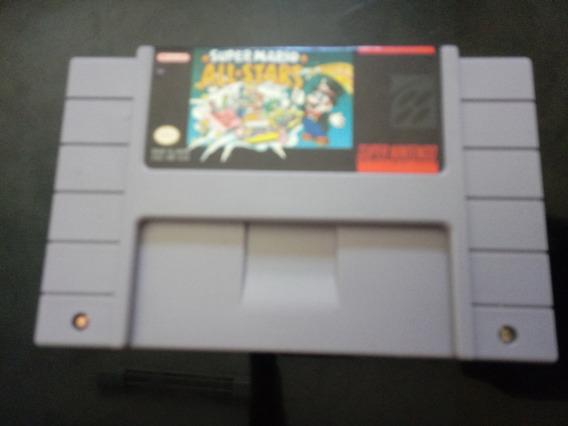 Super Mario All Star Original Snes Perfeita