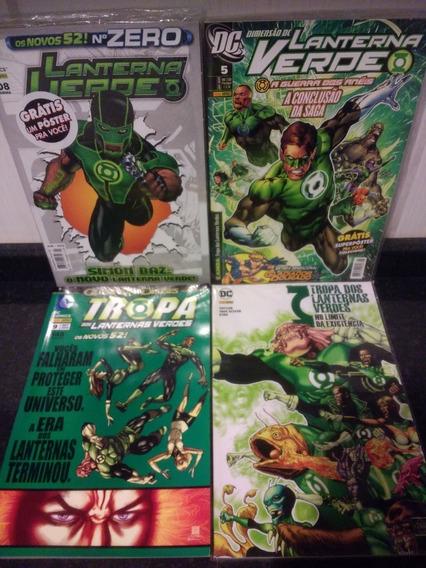 Hqs Lanterna Verde + Capa Dura Deluxe + Poster + Brinde Rjhm