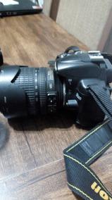 Câmera Nikon D5000 , Usada, Com Duas Lentes E 1 Flash