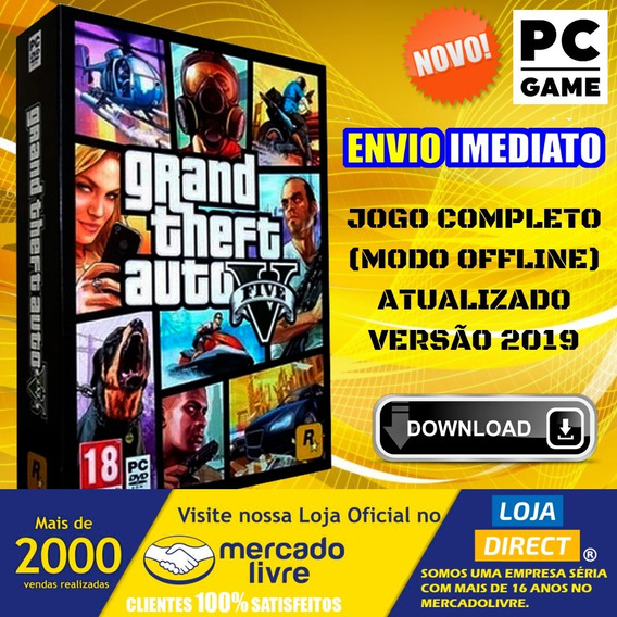 Grand Theft Auto V - Gta 5 - Pc - Português-br Envio Digital