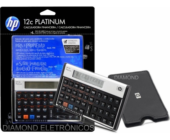 Calculadora Hp12c Platinum Português Original Nova Lacra