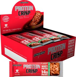Protein Crisp Bar Integralmedica Cx 12 Unidades 45g